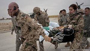 Verwundeter Soldat Afghanistan